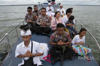 Umat Hindu Timika sucikan diri jelang Nyepi