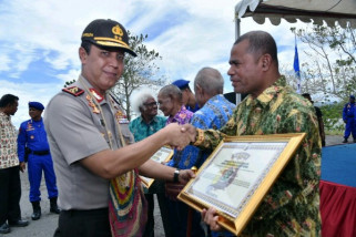 Kapolda Papua ajak warga Sentani sukseskan pilkada