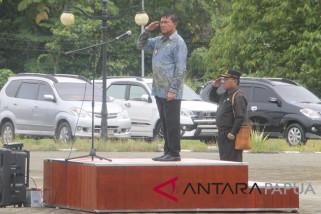 Penjabat Gubernur Papua menyoroti keterlambatan penetapan APBD Mimika