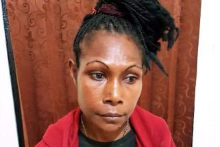 Polda Papua tangkap perempuan PNG pemilik ganja