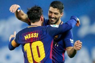 Barcelona taklukkan pesaing terdekatnya Atletico Madrid