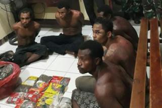 Polisi proses hukum warga PNG pembawa ganja 5,2 kilogram