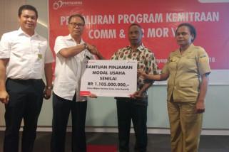 Pertamina Maluku-Papua salurkan CSR Rp1,3 miliar