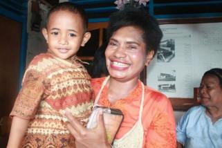 AKP Jubelina Wally Kartini asal Danau Sentani