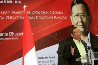 Ma'ruf: Mahfud MD mendukung Jokowi