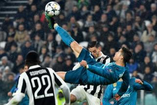 Gol salto Ronaldo hiasi kemenangan Real Madrid atas Juventus