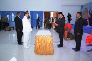 Penjabat Gubernur Papua lantik Penjabat Bupati Mamteng