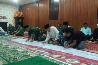 Polres Boven Digoel gelar doa bersama untuk pahlawan Polri
