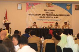 Menteri PPPA minta perempuan Timika ciptakan perdamaian