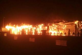 Gudang penyimpanan arsip Pemkab Jayawijaya terbakar
