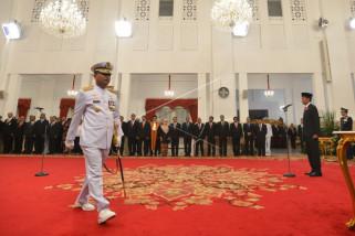 Presiden lantik Laksamana TNI Siwi Sukma Adji sebagai KSAL