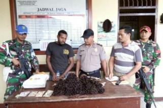 TNI amankan warga PNG pembawa komoditi tanpa dokumen