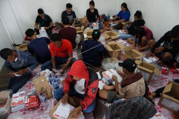 Lipat surat suara Pilgub Papua