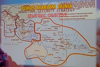 Pemerintah Indonesia terus berupaya mewujudkan poros maritim dunia