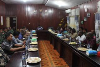 Bupati Asmat gelar rapat koordinasi terkait keamanan Pilgub Papua