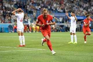 Dua gol Kane bawa Inggris tundukkan Tunisia 2-1