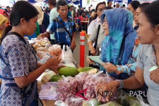 BI Papua gelar pasar murah non tunai