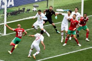 Gol Ronaldo menangkan Portugal atas Maroko