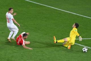 Shaqiri ukir gol penentu kemenangan Swiss atas Serbia