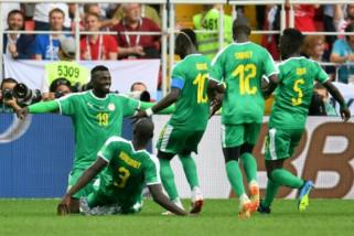 Senegal unggul 2-1 atas Polandia