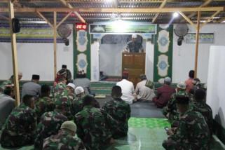 TNI gelar Nuzulul Quran di perbatasan RI-PNG