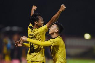 Bhayangkara FC tumbangkan Persipura di Stadion Mandala