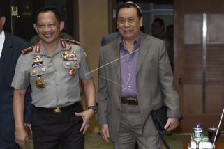 Kapolri usulkan UU perlindungan terhadap penegak hukum