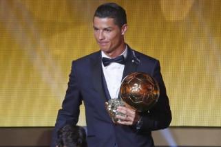 Ronaldo kembali masuk nominasi Ballon D'or