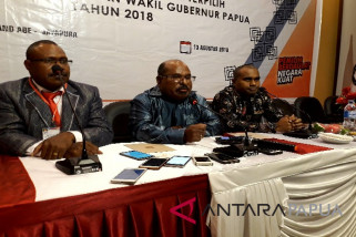 Gubernur Papua terpilih menyatakan mendukung Jokowi