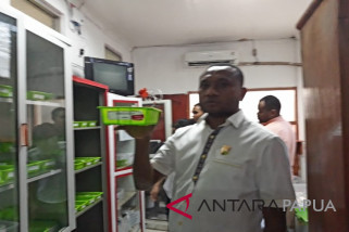 Komisi V DPRP pastikan RSUD Jayapura kekurangan obat