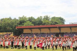 Polisi cilik meriahkan HUT ke-73 Kemerdekaan RI di Jayapura