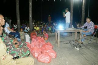 Tim Sekber sosialisasikan program Bangga Papua di Asmat