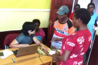 Warga Asmat antusias ikut program Bangga Papua