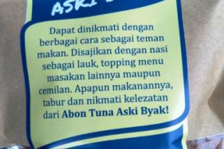 Diskop UKM Biak Numfor dorong peningkatan produk abon ikan asky