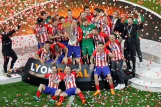 Atletico Madrid raih Piala Super UEFA setelah kalahkan Real Madrid