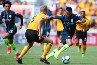 Manchester City ditahan imbang di markas Wolverhampton Wanderers