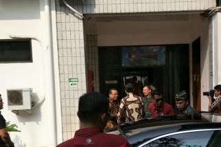 Presiden Jokowi jenguk Habibie di RSPAD