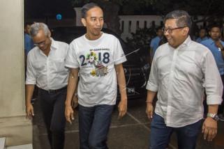 Jokowi tunjuk tim inti kampanye nasional