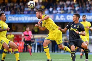 Juventus ukir kemenangan dramatis di markas Chievo