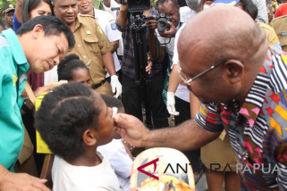 Pemprov Papua canangkan imunisasi MRP di Mamteng