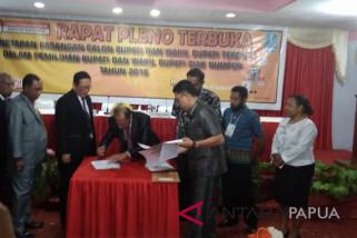 KPU Biak Numfor tetapkan bupati dan wakil bupati terpilih