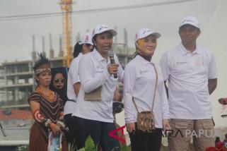 Menteri BUMN di panggung Pesta Rakyat Jayapura