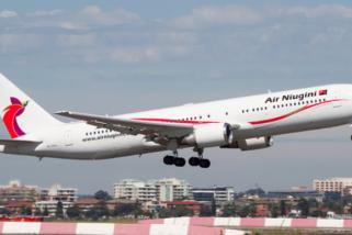 Penumpang selamat dalam insiden pesawat Niugini Air jatuh ke laut mikronesia