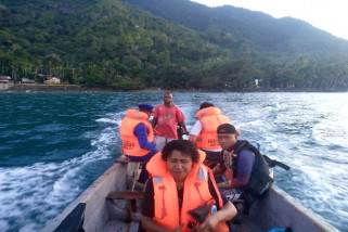 MV Papolisis dilaporkan kerusakan mesin di Perairan Sarmi