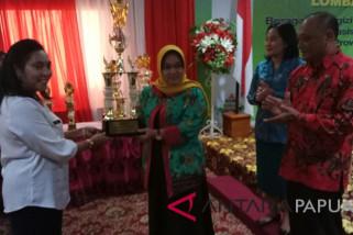 PKK Kabupaten Keerom juara lomba cipta menu B2SA
