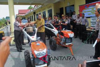 Polres dan Distan Jayawijaya kerja sama bangun sektor pertanian