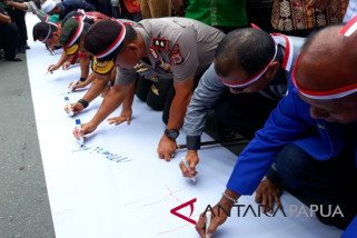 Papua deklarasikan pilpres dan pileg 2019 aman