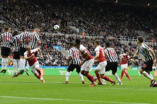 Tendangan bebas Xhaka warnai kemenangan Arsenal atas Newcastle