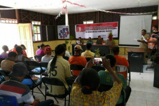 Babinsa ajak warga Tanah Merah berperan aktif dalam pembangunan