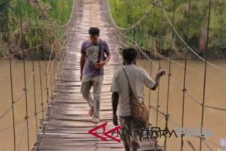 Pemkab Jayawijaya alokasikan dana perbaikan lima jembatan gantung